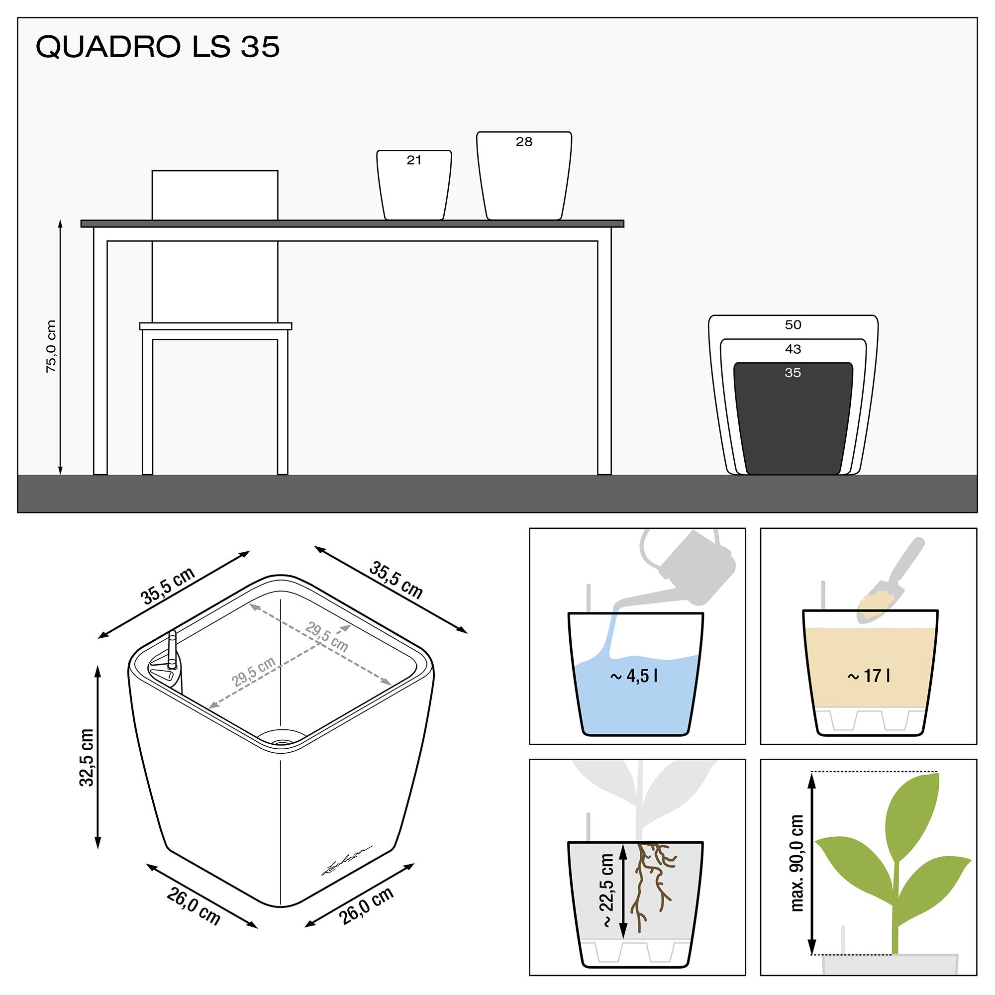 QUADRO LS 35 white high-gloss - Image 3