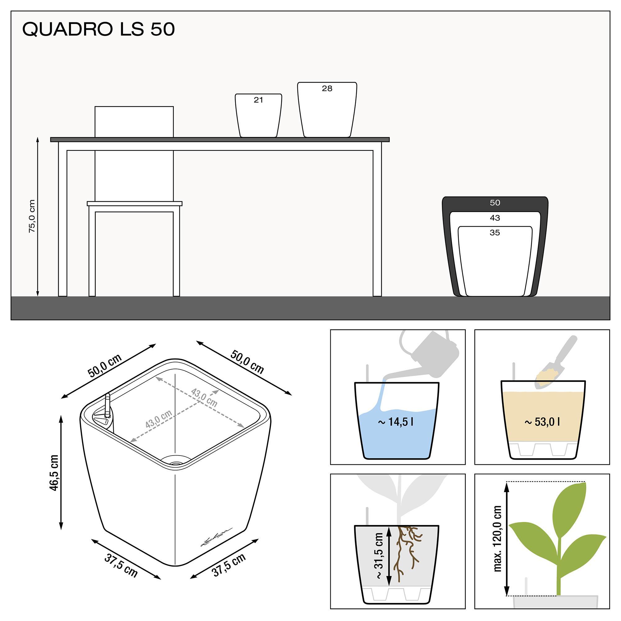 QUADRO LS 50 white high-gloss - Image 3