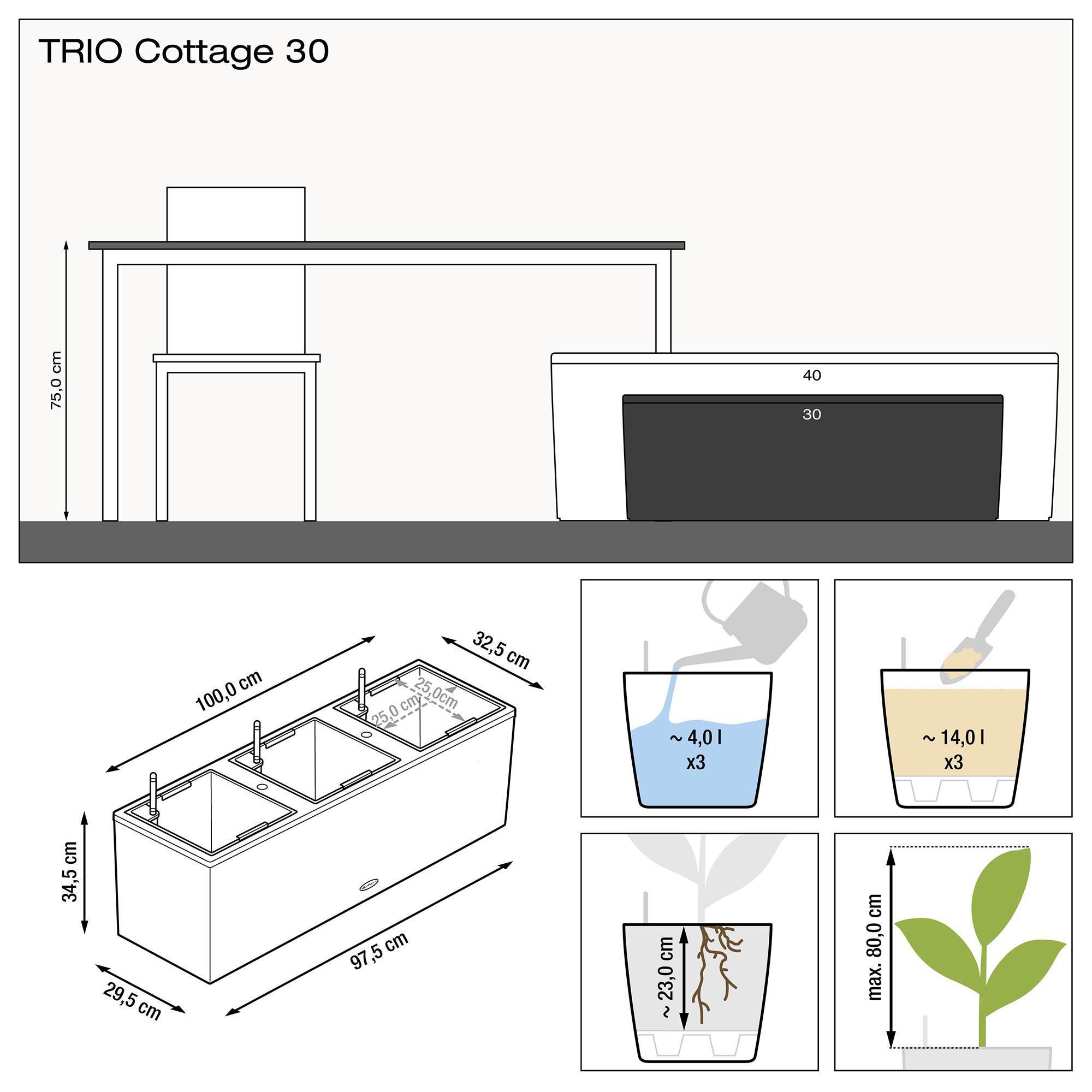 TRIO Cottage 30 granit - Bild 3