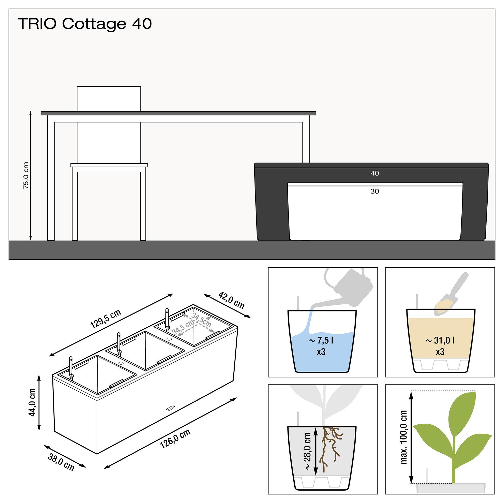 TRIO Cottage 40 granit - Bild 3