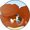 4013-A featureimage Höhle mit Pinguin-Nest