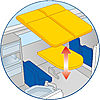 4859-A featureimage Tisch klappbar / Liegefläche