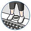 5130 featureimage Las figuras pueden sujetarse en el suelo