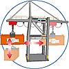 5254 featureimage flèche électrique (nécessite 3 piles R6 Mignon 1,5 V)