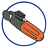 6864 featureimage Le moteur submersible nécessite 1 pile 1,5V AAA non fournie.