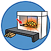 70207 featureimage Fireplace flickers (2 x AAA batteries required)