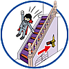 70361 featureimage (Staircase) steps can be lowered/ transformed into a slide/transformable