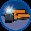 9267 featureimage Werkende lamp (2 microbatterijen van 1,5V nodig)