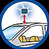 9361 featureimage Afneembaar knipperlicht (1 microbatterij van 1,5V nodig)