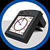 9453 featureimage digital clock with alarm (2 x AAA batteries required)