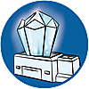 9469 featureimage cristallo luminoso con luce multi-colore (richiede 3 batterie AAA)