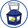 9473 featureimage Brandende lantaarn (batterijen inbegrepen)