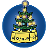9495 featureimage mit Weihnachtsbaumbeleuchtung (2 x 1,5-V-Micro-Batterien nötig)